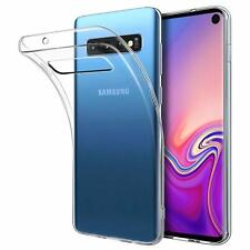 Samsung Galaxy S10 S10e S10 Plus 5G Silicone Crystal Clear Shockproof Cover Case