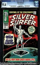 Silver Surfer #1 Cgc 9.6 Origin Of Silver Surfer Cgc # 1226862006