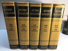 Collier National Encyclopedia 1932 Vol 1-5