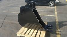 """New 18"""" Hyundai R145Lcr-9 / 140Lcr-9 Excavator Bucket with Coupler Pins"""