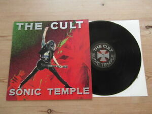 THE CULT-SONIC TEMPLE-GREAT AUDIO-BEGA 98-EX VG+ VINYL LP ALBUM 1989