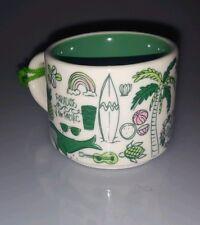 """Mini Starbucks Mug """"You are here"""" Series  Waikiki Hawaii Ornament Island Collage"""