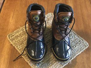 Crater Ridge Pike II, Mens Winter Boots, Size 11, Leather Upper, Waterproof Foot