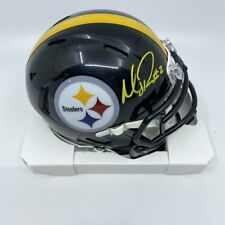 Mason Rudolph Signed Pittsburgh Steelers Speed Mini-Helmet