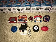 World's Smallest Secret Smallest Set of 9.Etch A Sketch,Hot Wheels,Rubiks,8 Ball