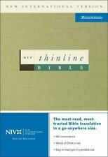 Thinline Bible: New International Version Zondervan Bonded Leather Book New