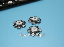 3W royal blue 440-450nm led Power LED on star PCB for Plant Growing 10PCS