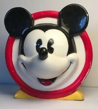 Disney Mickey Mouse Hand Painted Toothbrush Holder Disneyland bathroom