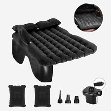 Car Air Bed Inflatable Mattress Travel Sleeping Camping Seat Cushion Mat w/Pump
