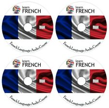 Learn to speak FRENCH - Complete Language Training Course on 4 AUDIO CDs