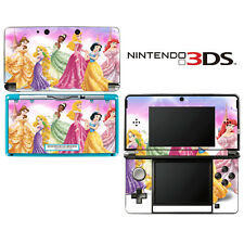 Vinyl Skin Decal Cover for Nintendo 3DS - Princess Friends Sparkle Belle Rapunze