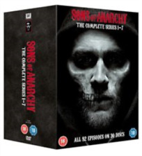 Charlie Hunnam, Johnny Lewis-Sons of Anarchy: Complete Seasons 1-7  DVD NEW