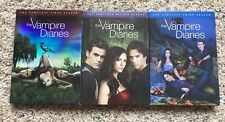 Vampire Diaries: The Complete First, Second & Third Seasons 1- 3  DVD Sets.
