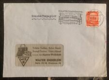 1939 Berlin Germany Commercial Cover Battle Of Tannenberg Cancel
