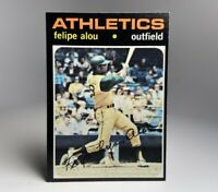 1971 Topps Felipe Alou Oakland Athletics #495 NM