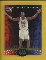Shaquille O'Neal 1996 Upper Deck USA Basketball Card # 18 L A Lakers Heat NBA