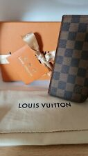 Genuine Louis Vuitton Damier Ebene IPhone 7 + Folio Case. N63353