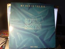 "RAR MAXI 12"". BLUE SYSTEM (MODERN TALKING). MY BED IS TOO BIG. MADE IN SPAIN"