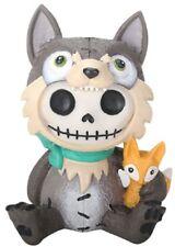NEW Furrybones Furry Bones Wolfgang Wolf Skull Skeleton Figurine Gift 9131