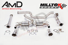 """Milltek Focus RS MK2 Ultimate Turbo Back Exhaust with DownPipe and Decat 3"""""""