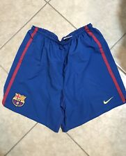Barcelona Nike Messi Iniesta Xavy Puyol Era Soccer Shorts Football Shirt