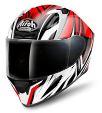 Airoh Helmet Vacq55 INTEGRALE Valor Conquer Red Gloss L
