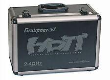 NEW GRAUPNER TRANSMITTER ALUMINUM CASE FOR MX-12 / MX-18 / MZ-24