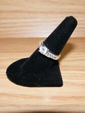 Women's Fashion Faux Diamond Costume Jewelry Ring Only **READ**