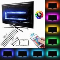 USB 5V LED Strip Light TV Backlight 5050 RGB Bias Light Color Changing Lights