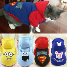 Cartoon Suit for pet small dog cat Chihuahua toy Terrier the Shih Tzu puppy
