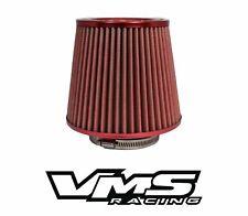 "VMS RACING RED 3"" AIR INTAKE HIGH FLOW AIR FILTER FOR NISSAN SENTRA 200SX SER"