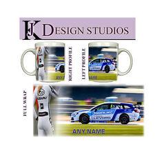 Subaru Levorg BTCC Personalised Fan Mug
