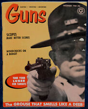 Magazine GUNS December 1960 Tune LUGER For Targets, E.KEITH says: HUSQVARNA .358