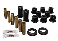 Energy Suspension 82-04 Sonoma S10 S15 Blazer Rear Leaf Spring Bushings (Black)