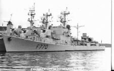 WW2 FRENCH MILITARY FRIGATE CHAMPENOIS POSTCARD