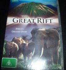 The Great Rift Africa's Greatest Story BBC Earth (Australia Region 4) DVD New