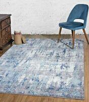RUGS AREA RUGS CARPET 8x10 RUG MODERN LARGE BIG FLOOR BEDROOM BLUE GRAY 5x7 RUGS