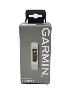 Garmin Vivosmart 4 Smart Fitness Tracker Watch, Gray/Rose Gold, Small/Medium