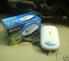 BOYU S-500 SINGLE OUTLET 3L/MIN AIR PUMP FOR AQUARIUMS AND FISH BOWLS