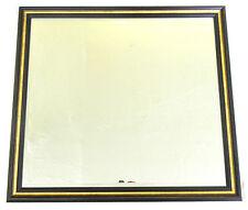 85 x 78 cm Wandspiegel Facettenschliff SPIEGEL MEGA NEU Braun/Gold