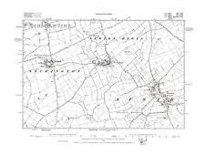 Old Map of  Austrey, Newton Regis, Seckington, Warwickshire in 1885- Repro 3 NW