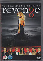 DVD SERIE NEUF : REVENGE - SAISON 2 INTEGRALE - SEASON 2 NEW - ENGLISH