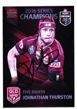 Queensland 2016 Season NRL & Rugby League Trading Cards