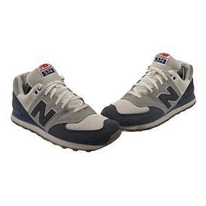 New Balance 574 Men's Size 10 Navy Grey White Retro Classics Shoes ML574RSC