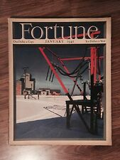 Fortune Magazine January 1941