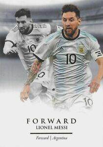 2020 FUTERA UNIQUE SOCCER Lionel Messi Argentina Barcelona Base Card #81