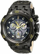 Invicta Jason Taylor Reserve Hybrid Swiss Made Chronograph Leather Strap Watch