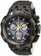 Invicta Jason Taylor Reserve Hybrid Swiss Made Chronograph Leather Strap Watch