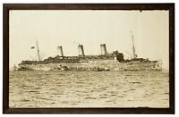 USS Leviathan, NY Harbor March 1919, Enrique Muller, Jr, Large Orig Photo Print