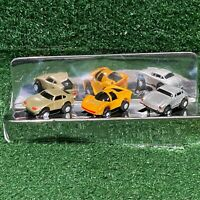 Vintage 1989 Funrise Micro Action Magnifiers Mini Micro Machine Toy Cars